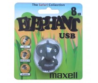 Память Maxell USB 8GB Animal ELEPHANT