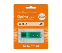Память QUMO 16 Gb. Optiva-01 Green