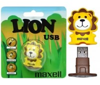 Память Maxell USB 8GB Animal Lion