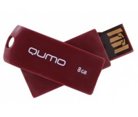 Память QUMO 08 Gb. Twist ROSEWOOD
