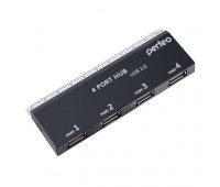 USB-хабы Perfeo USB-HUB 4 Port (PF-VI-H026 black)